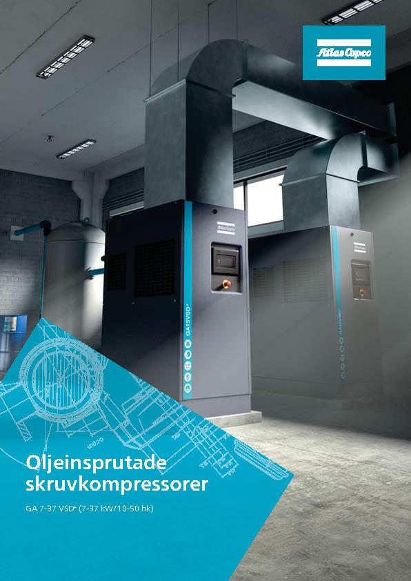 Tryckluftcenter blir auktoriserad servicepartner för Atlas Copco Compressor Technique Scandinavia